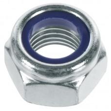 Гайки со стопорным кольцом DIN 985 оцинкованные - 3
